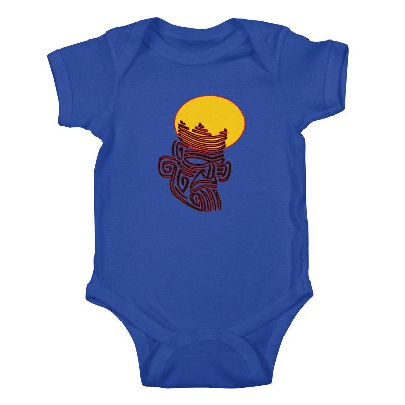 Ancestor Kings Kids Baby Bodysuit by  SAMSKARA
