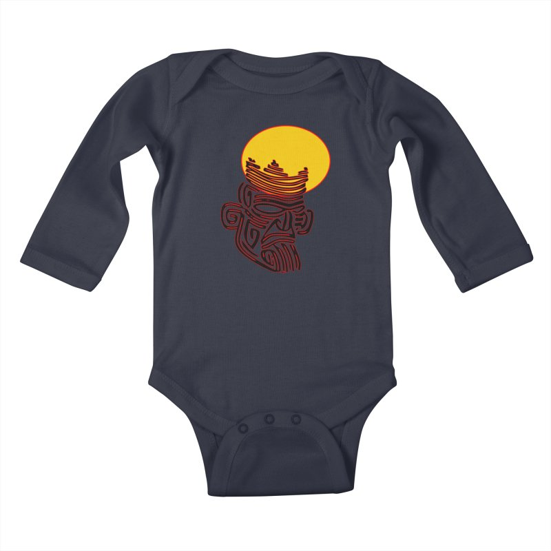 Ancestor Kings Kids Baby Longsleeve Bodysuit by  SAMSKARA