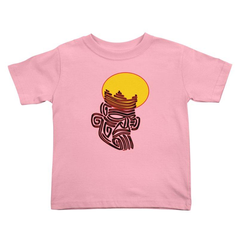 Ancestor Kings Kids Toddler T-Shirt by  SAMSKARA