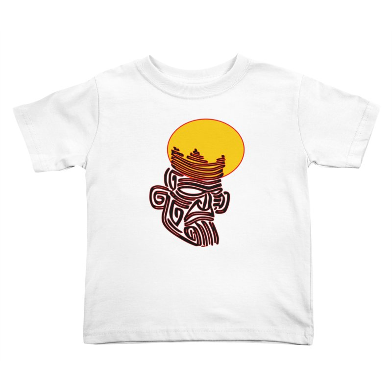 Ancestor Kings Kids Toddler T-Shirt by  SAMSKARA