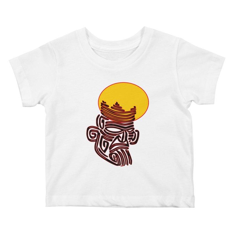 Ancestor Kings Kids Baby T-Shirt by  SAMSKARA