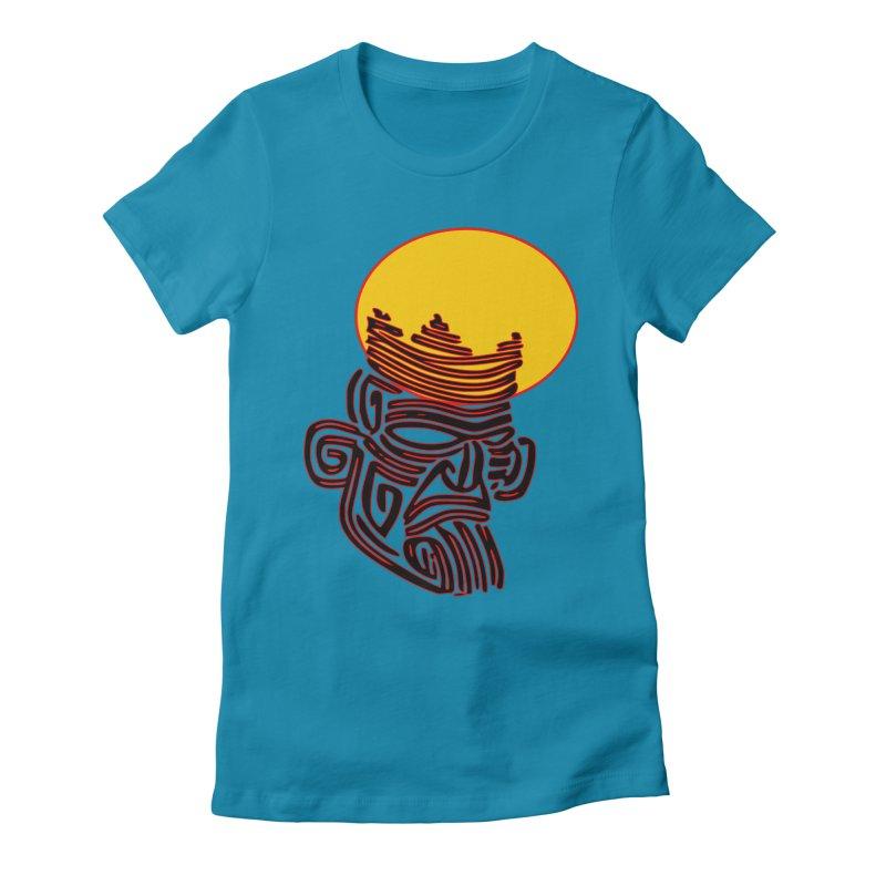 Ancestor Kings Women's Fitted T-Shirt by  SAMSKARA