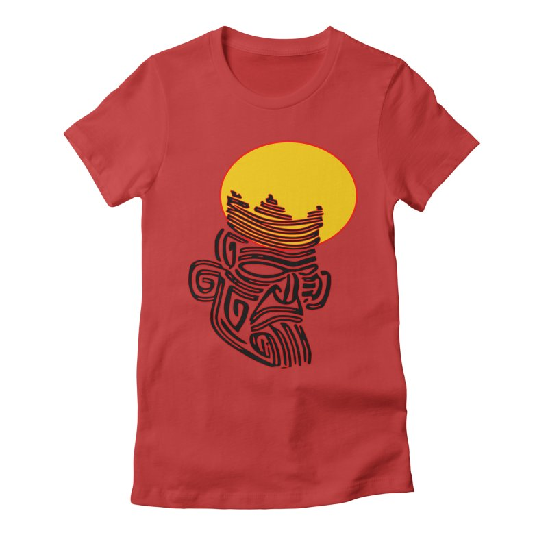 Ancestor Kings Women's Fitted T-Shirt by  SAMSKARA