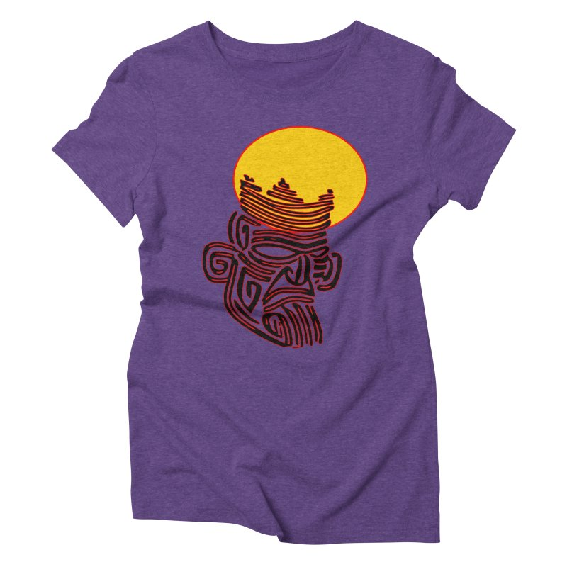 Ancestor Kings Women's Triblend T-Shirt by  SAMSKARA