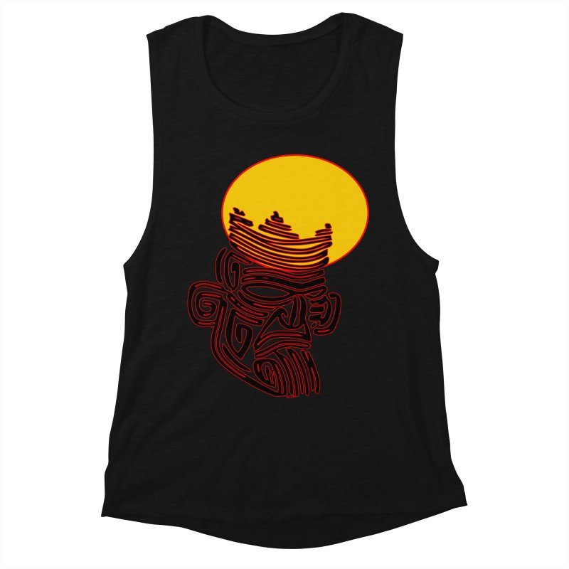 Ancestor Kings Women's Muscle Tank by  SAMSKARA