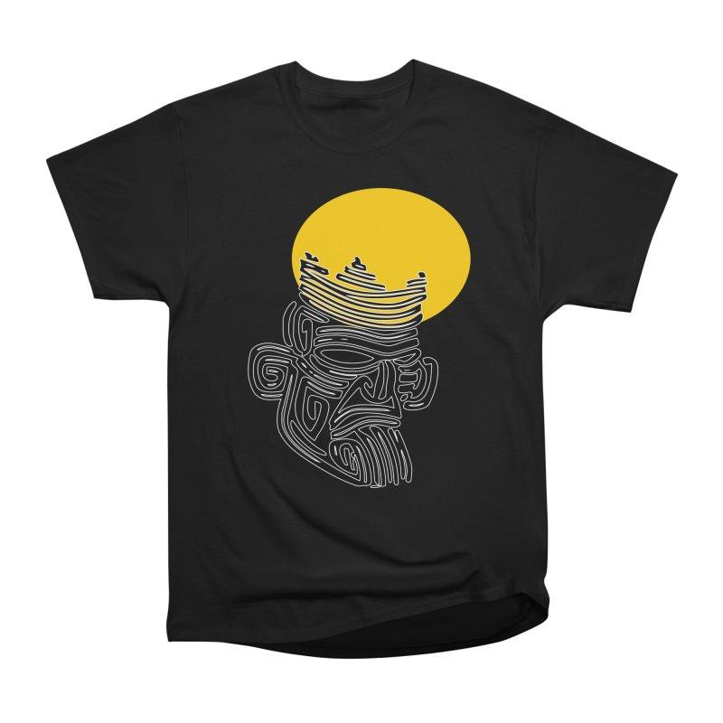 Ancestor Kings Men's Heavyweight T-Shirt by  SAMSKARA