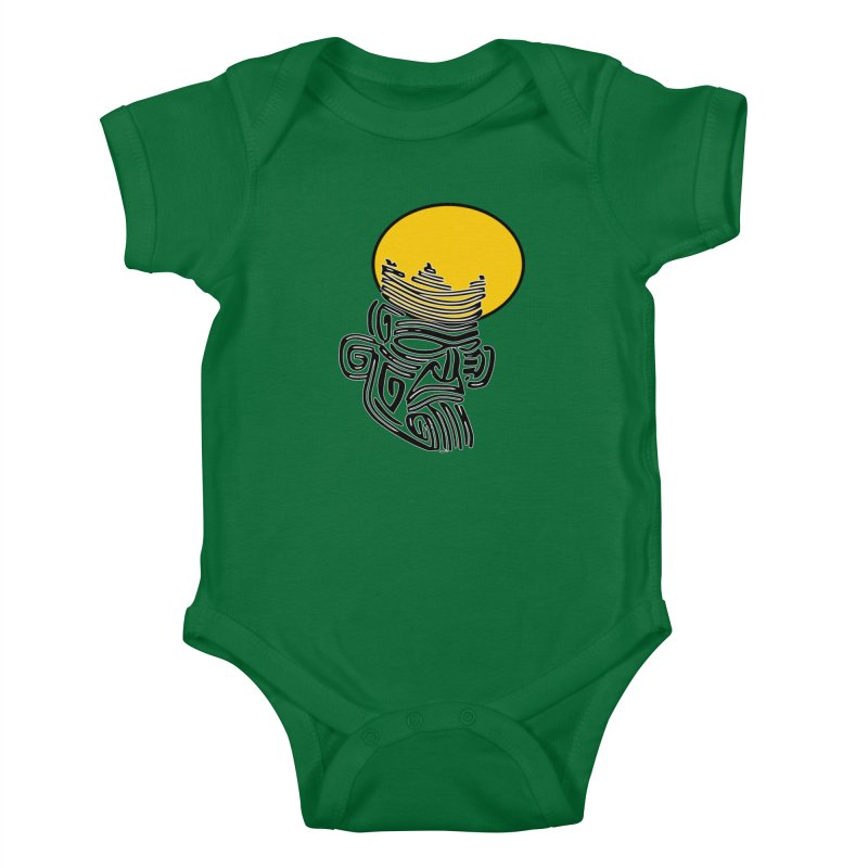 Ancestor Kings Kids Baby Bodysuit by  SAMSKARA