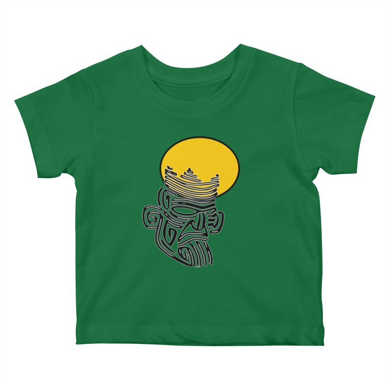 Ancestor Kings Kids Baby T-Shirt by  SAMSKARA