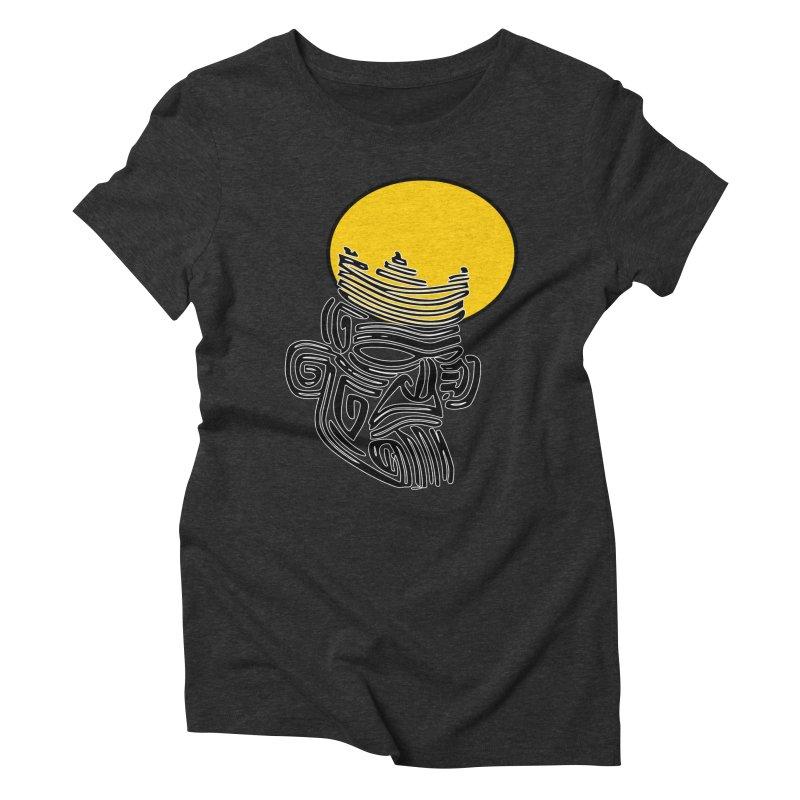 Ancestor Kings Women's Triblend T-Shirt by  SAMSKARA