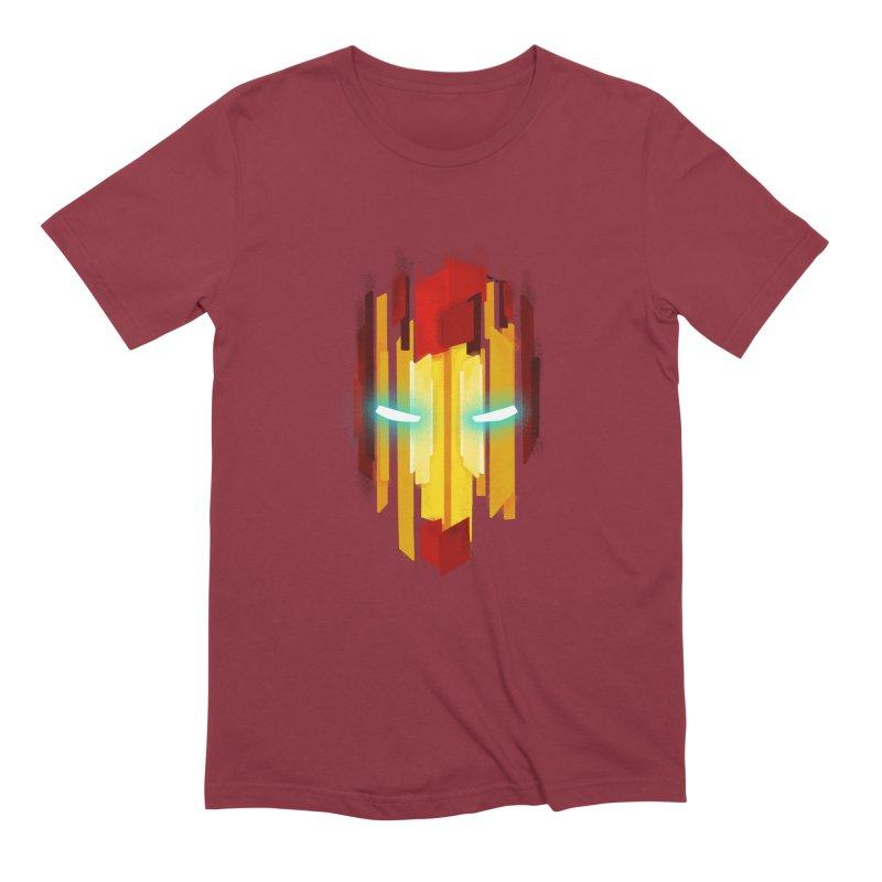 Gabe's Iron Man Men's Extra Soft T-Shirt by Sam Stone's Shop