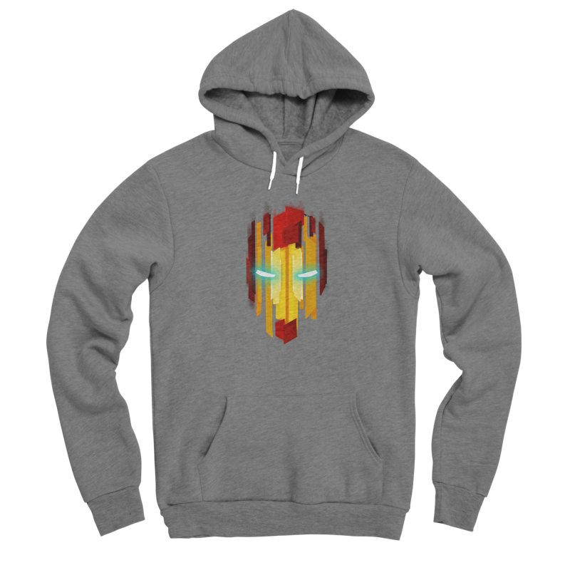 Gabe's Iron Man Women's Sponge Fleece Pullover Hoody by Sam Stone's Shop