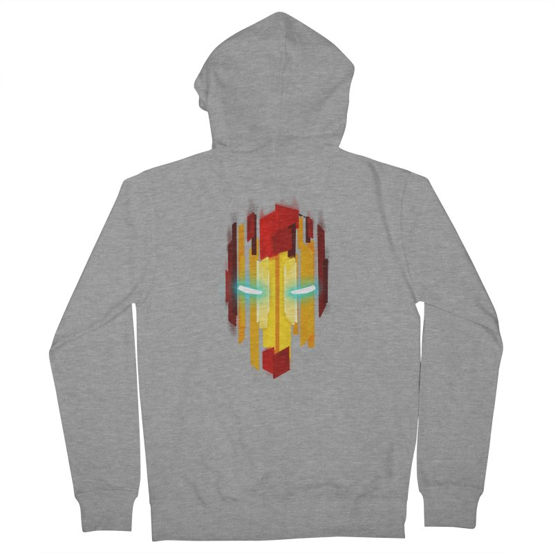 Gabe's Iron Man Men's French Terry Zip-Up Hoody by Sam Stone's Shop