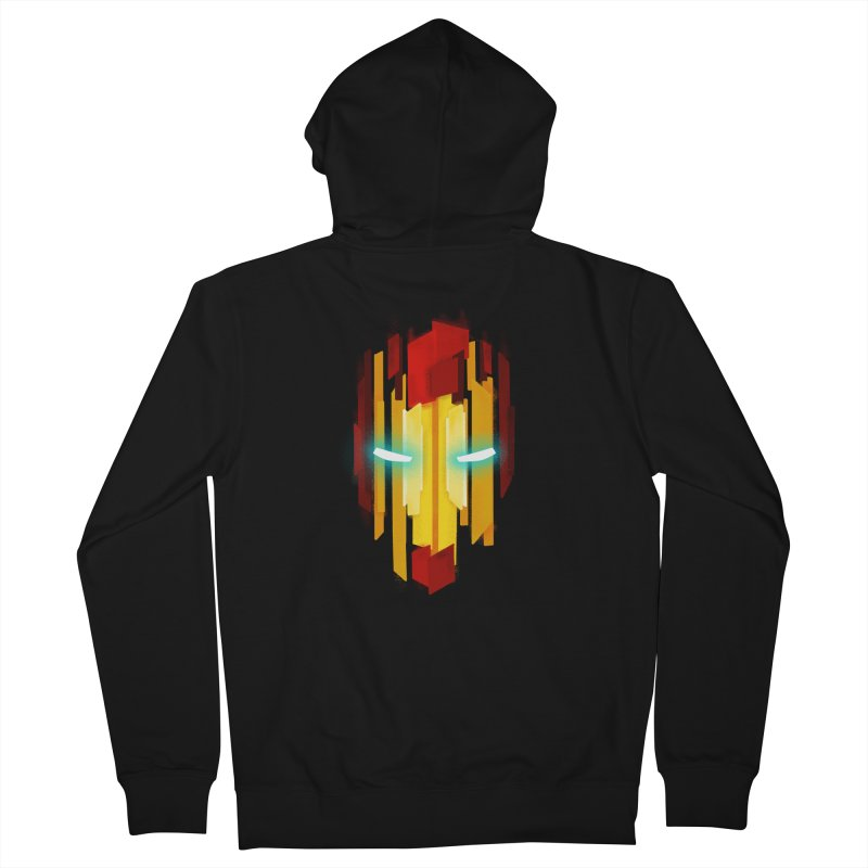 Gabe's Iron Man Men's Zip-Up Hoody by Sam Stone's Shop