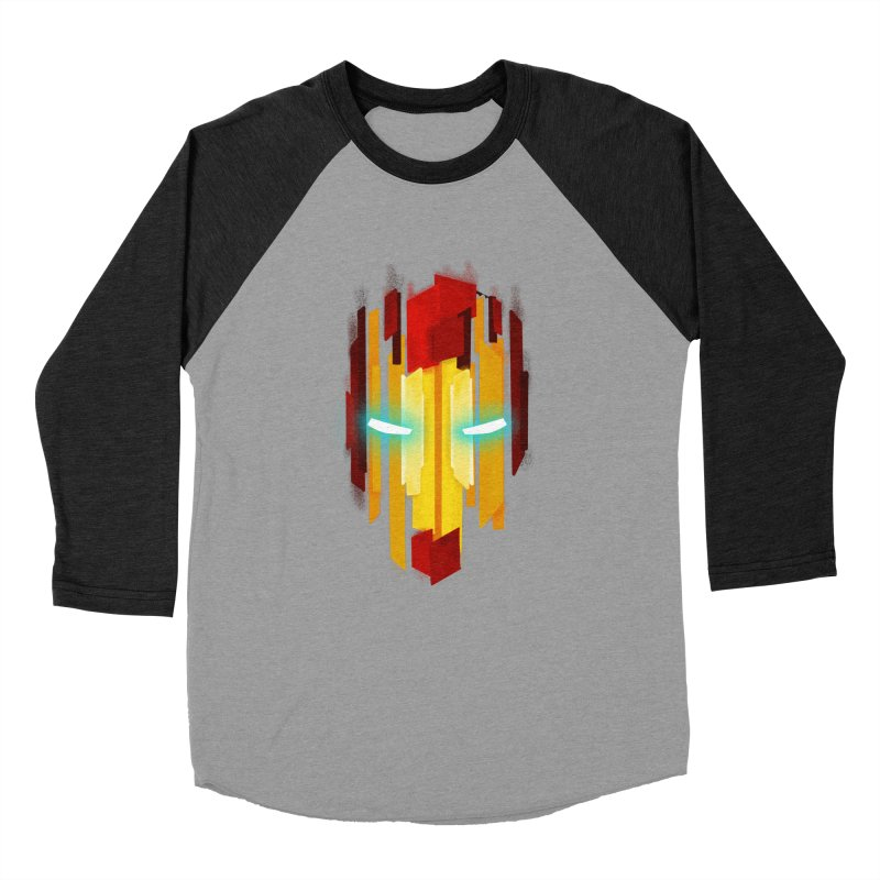 Gabe's Iron Man Women's Baseball Triblend Longsleeve T-Shirt by Sam Stone's Shop