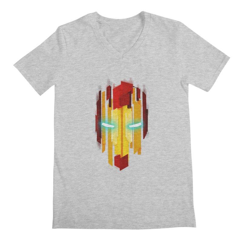 Gabe's Iron Man Men's Regular V-Neck by Sam Stone's Shop