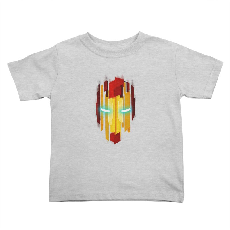 Gabe's Iron Man Kids Toddler T-Shirt by Sam Stone's Shop