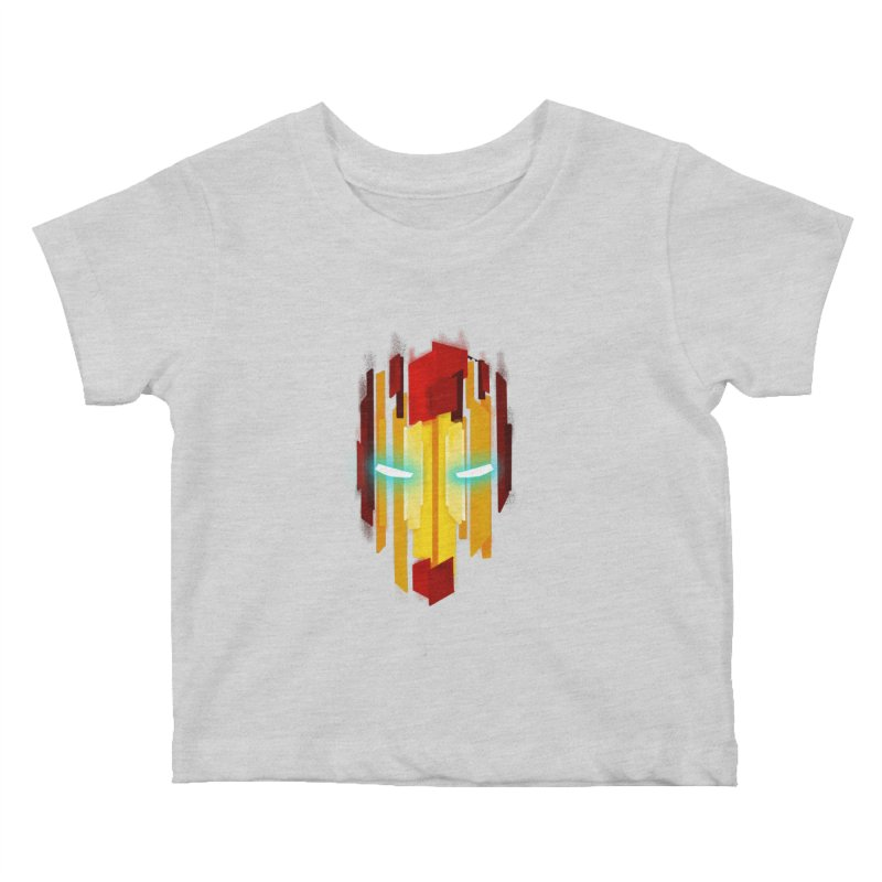 Gabe's Iron Man Kids Baby T-Shirt by Sam Stone's Shop