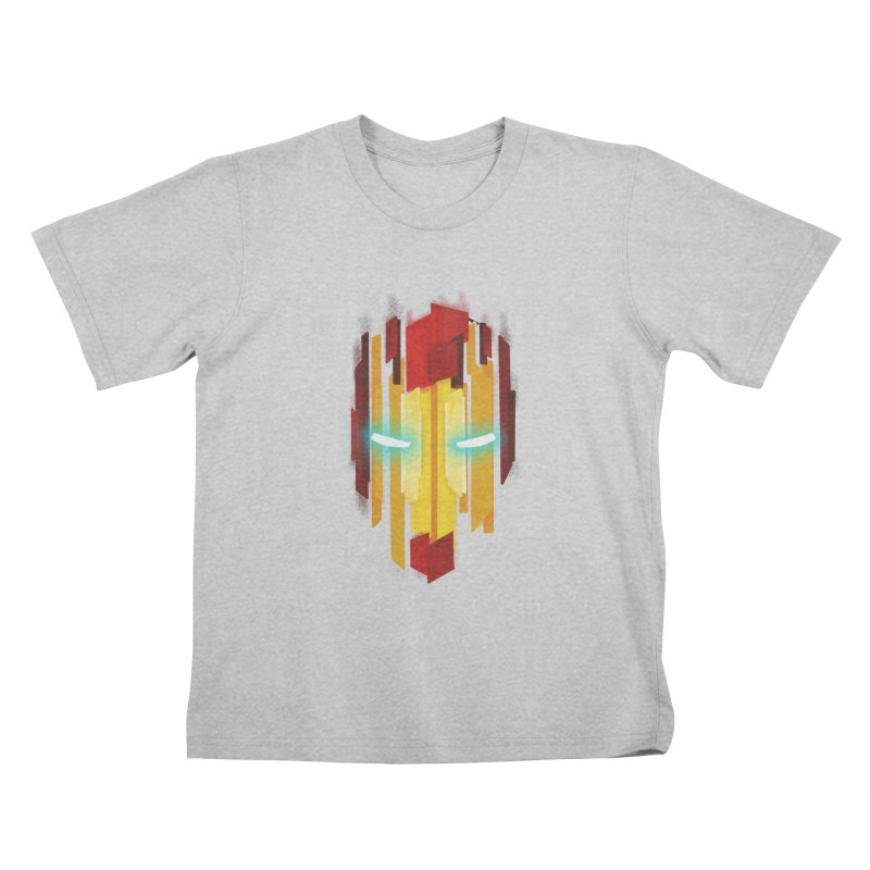 Gabe's Iron Man Kids T-Shirt by Sam Stone's Shop