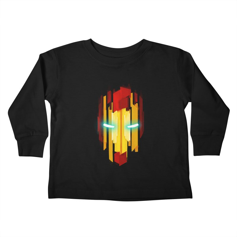 Gabe's Iron Man Kids Toddler Longsleeve T-Shirt by Sam Stone's Shop
