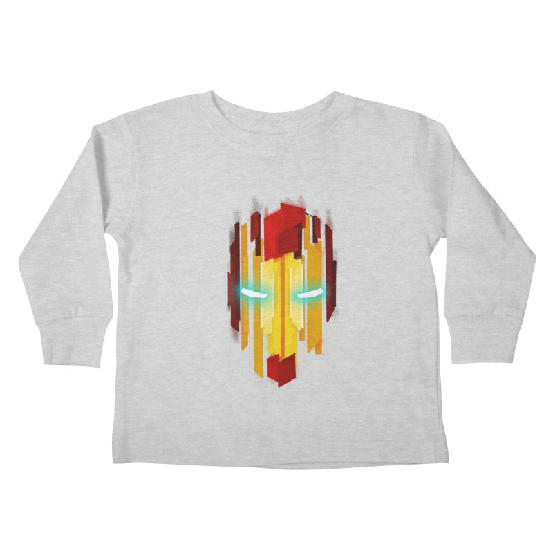 Gabe's Iron Man Kids Toddler Longsleeve T-Shirt by Sam Stone's Shop