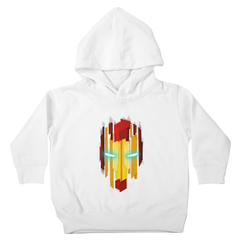 Gabe's Iron Man Kids Toddler Pullover Hoody by Sam Stone's Shop