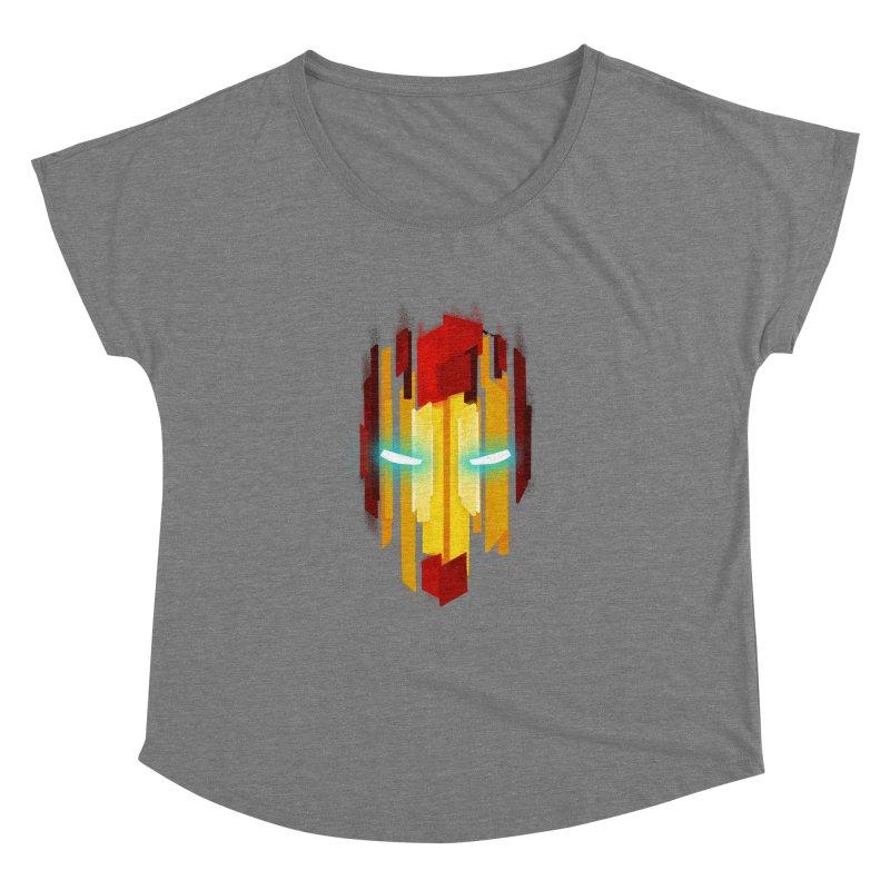 Gabe's Iron Man Women's Scoop Neck by Sam Stone's Shop