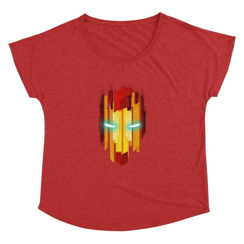 Gabe's Iron Man Women's Dolman Scoop Neck by Sam Stone's Shop