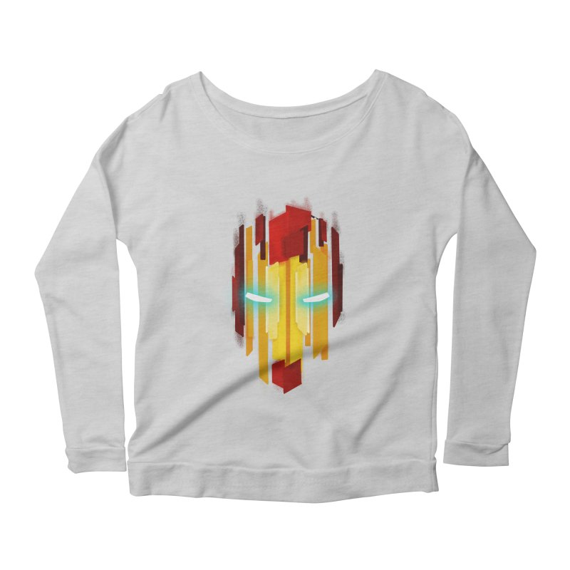 Gabe's Iron Man Women's Scoop Neck Longsleeve T-Shirt by Sam Stone's Shop