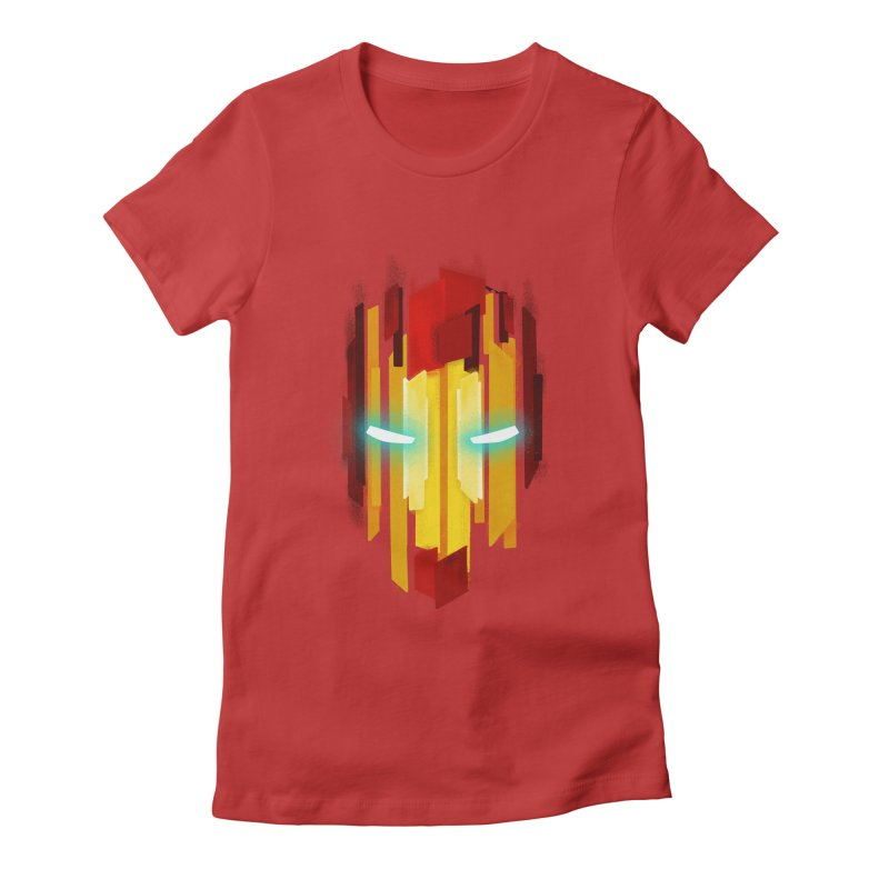 Gabe's Iron Man Women's Fitted T-Shirt by Sam Stone's Shop
