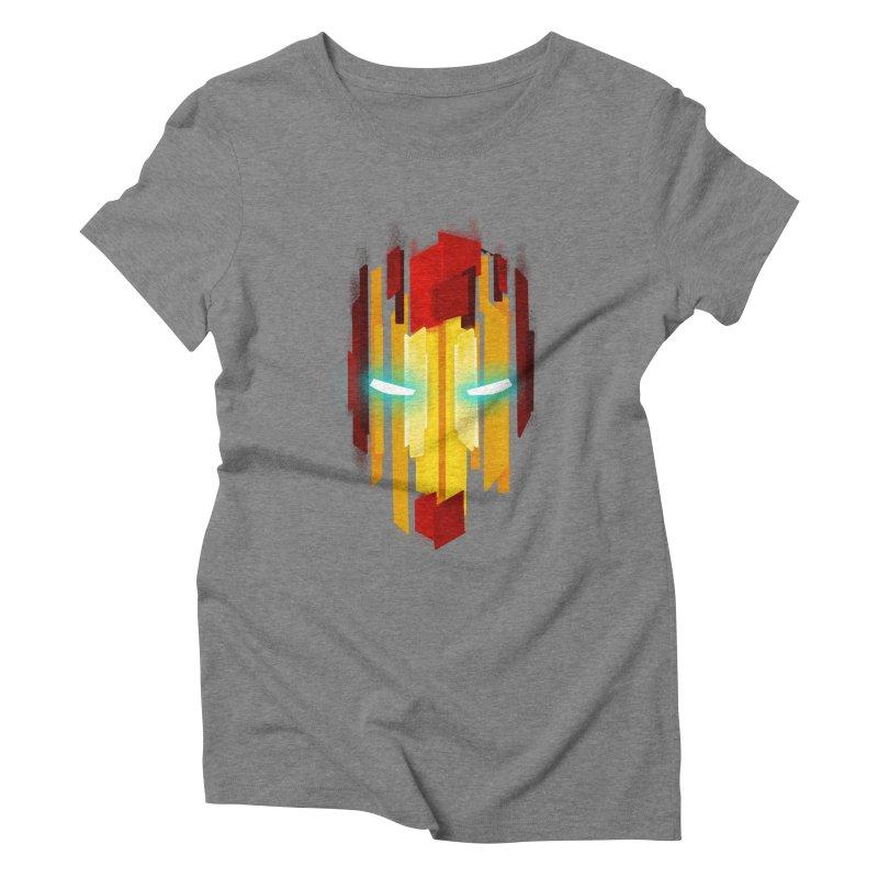 Gabe's Iron Man Women's Triblend T-Shirt by Sam Stone's Shop