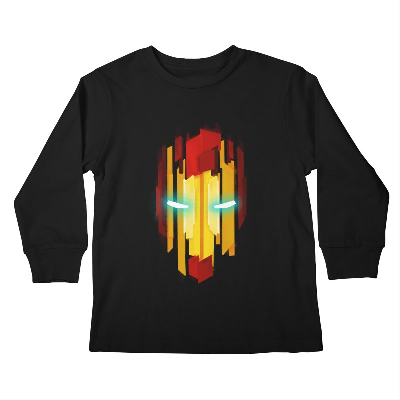 Gabe's Iron Man Kids Longsleeve T-Shirt by Sam Stone's Shop