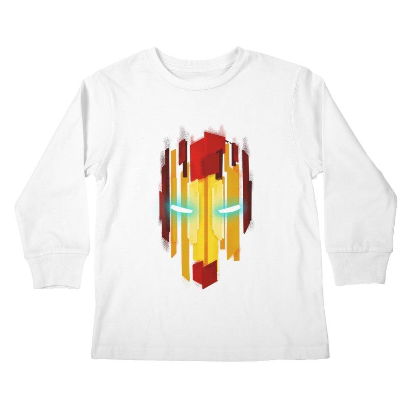 Gabe's Iron Man Kids Longsleeve T-Shirt by Sam Stone's Shop