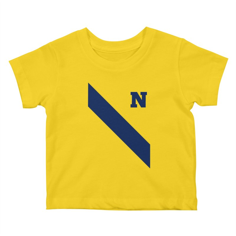 Navy Crew Kids Baby T-Shirt by Sam Stone's Shop