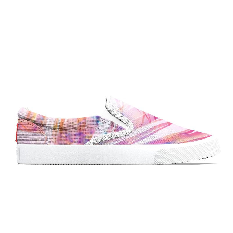 Rainbow Palm Trees Men's Shoes by Sam Stone's Shop
