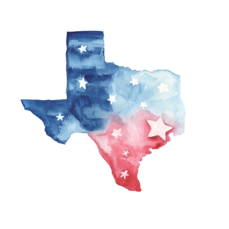 For Texas Home Throw Pillow by Sam Stone's Shop