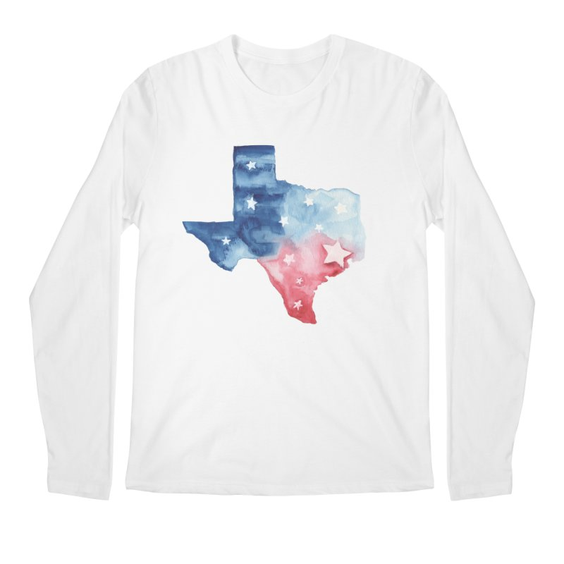 For Texas Men's Regular Longsleeve T-Shirt by Sam Stone's Shop
