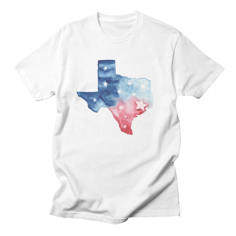 For Texas Men's Regular T-Shirt by Sam Stone's Shop