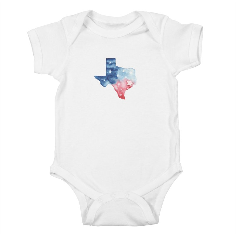 For Texas Kids Baby Bodysuit by Sam Stone's Shop