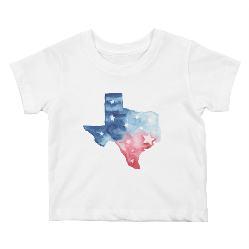For Texas Kids Baby T-Shirt by Sam Stone's Shop