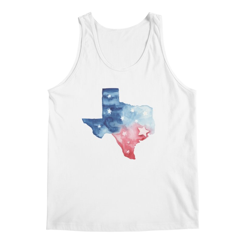 For Texas Men's Regular Tank by Sam Stone's Shop