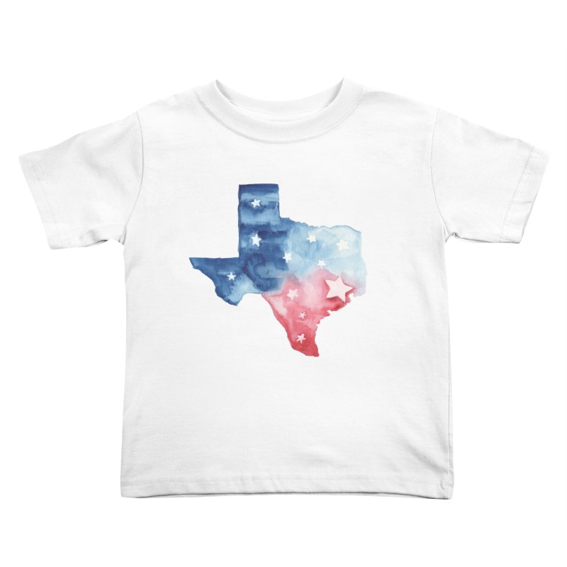 For Texas Kids Toddler T-Shirt by Sam Stone's Shop