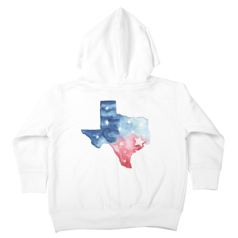 For Texas Kids Toddler Zip-Up Hoody by Sam Stone's Shop