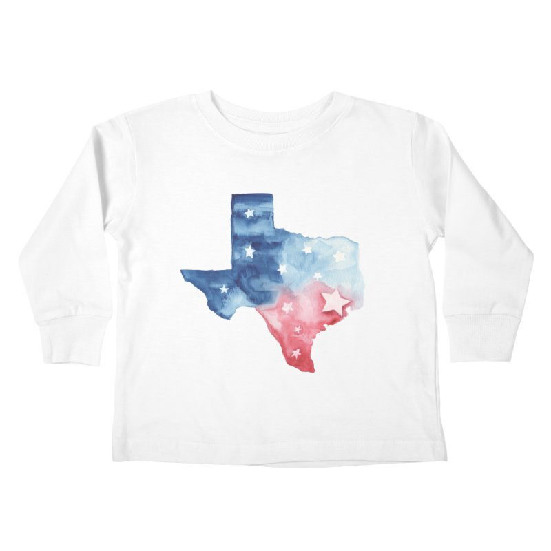 For Texas Kids Toddler Longsleeve T-Shirt by Sam Stone's Shop