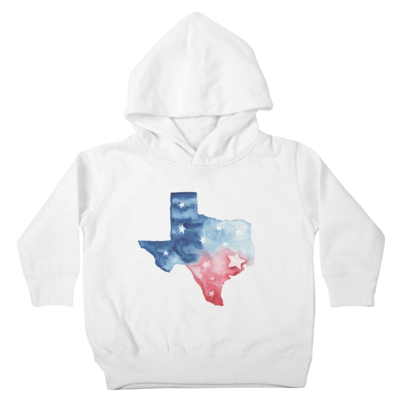 For Texas Kids Toddler Pullover Hoody by Sam Stone's Shop