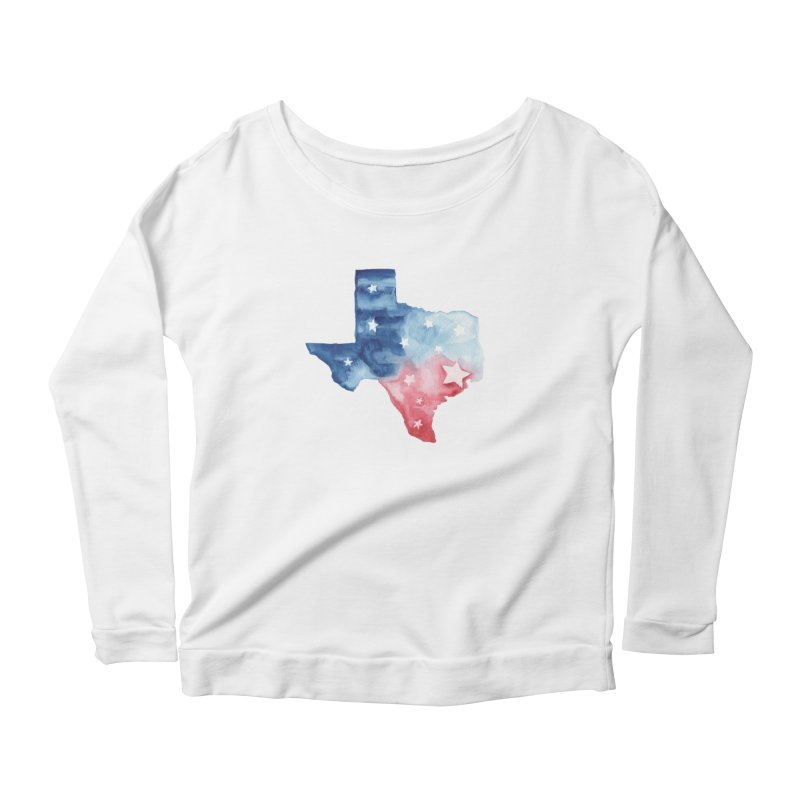 For Texas Women's Scoop Neck Longsleeve T-Shirt by Sam Stone's Shop