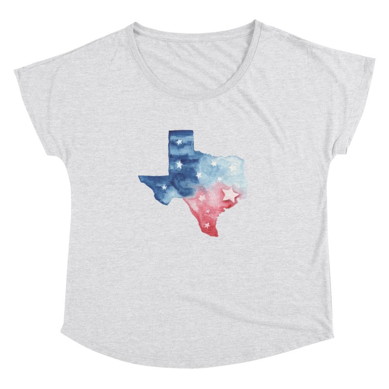 For Texas Women's Dolman Scoop Neck by Sam Stone's Shop