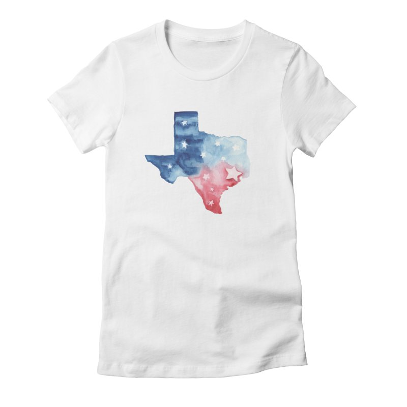 For Texas Women's Fitted T-Shirt by Sam Stone's Shop
