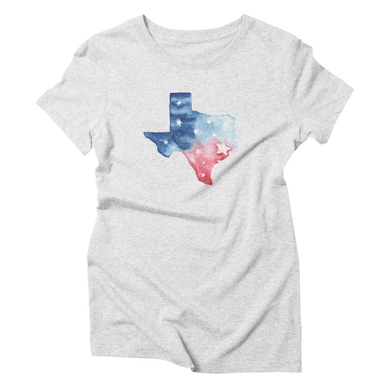 For Texas Women's Triblend T-Shirt by Sam Stone's Shop