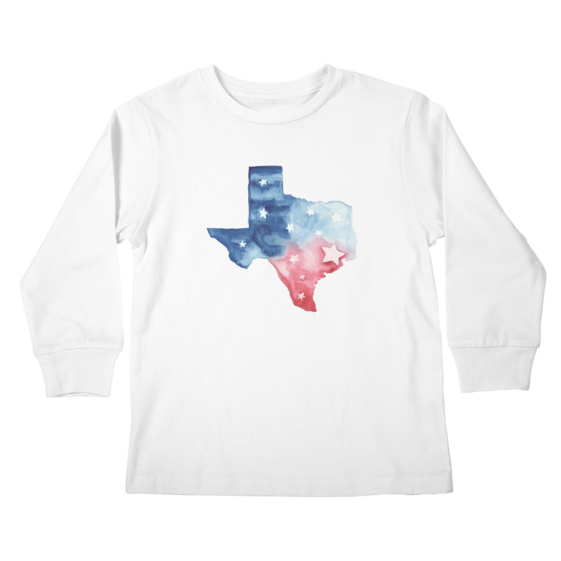 For Texas Kids Longsleeve T-Shirt by Sam Stone's Shop