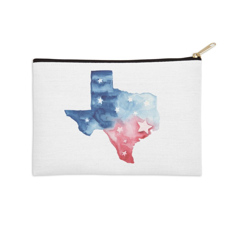 For Texas Accessories Zip Pouch by Sam Stone's Shop